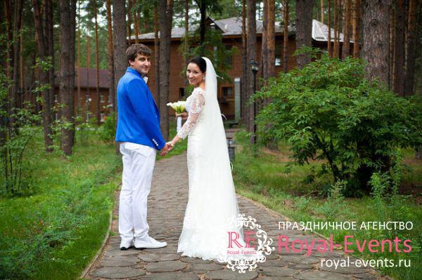 отметить свадьбу в подмосковье