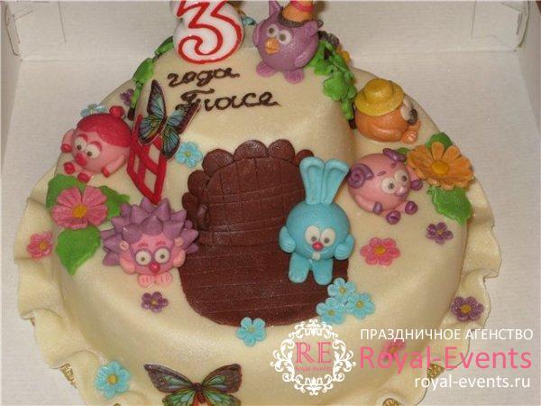торт на день рождения ребенка