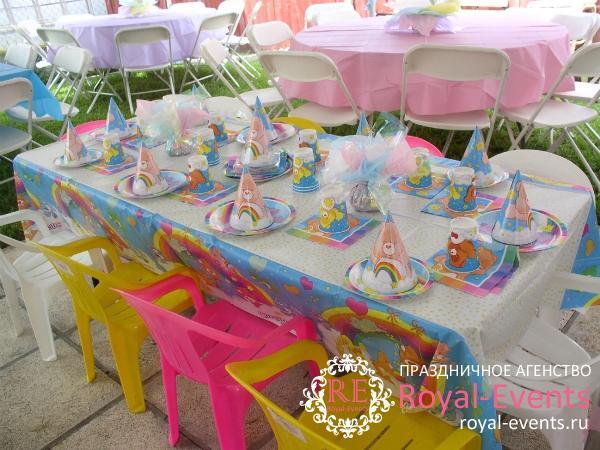 Оформление детских праздников в Москве