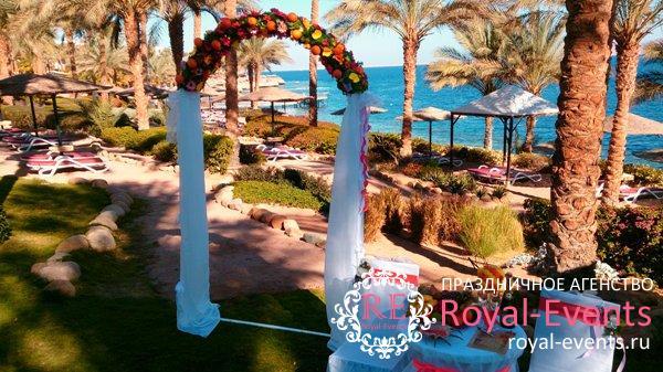 проведение свадьбы в Египте
