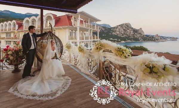 свадьба в загородном отеле