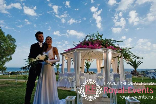 отметить свадьбу на Кипре