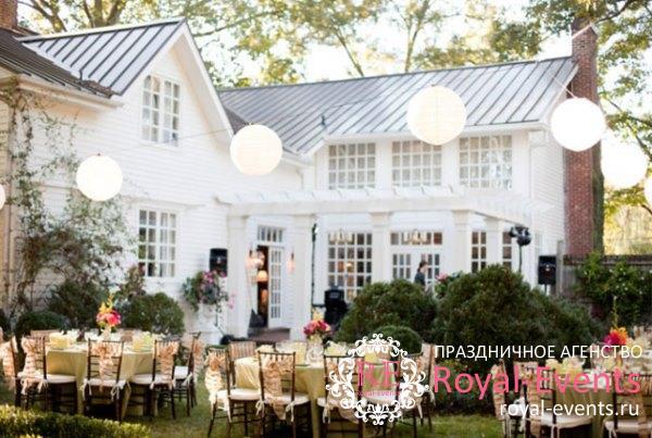 коттедж на свадьбу