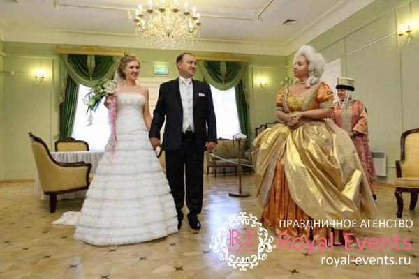свадьба в коломенском парке