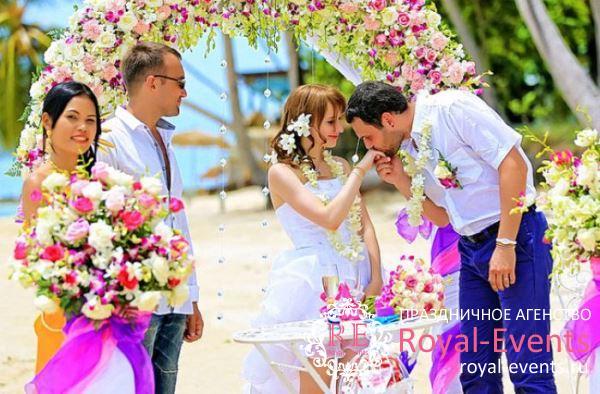 свадьба в Тайланде цены