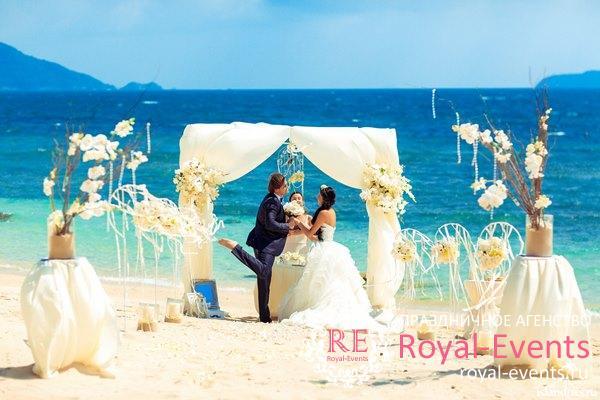 проведения свадьбы в Тайланде