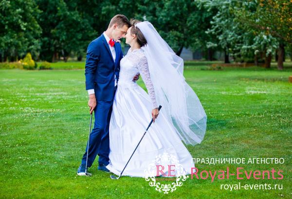 Свадьба в гольф клубе