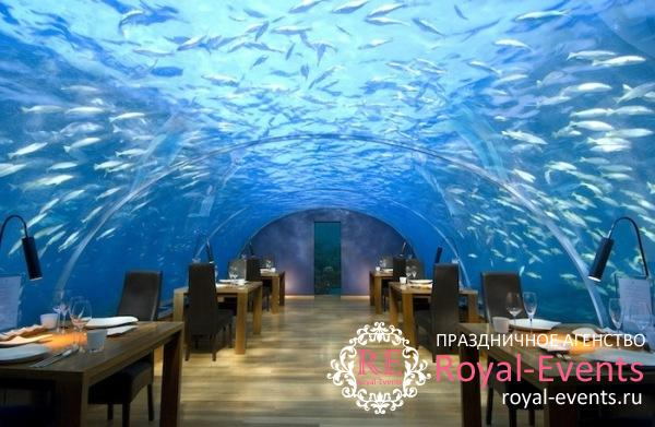Свадьба на Мальдивах под водой