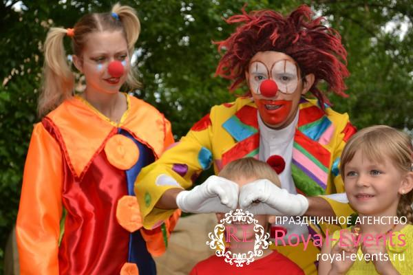 заказ клоунов