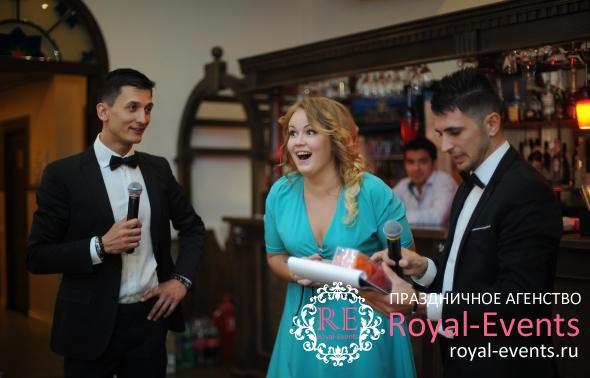 дуэт ведущих на свадьбу