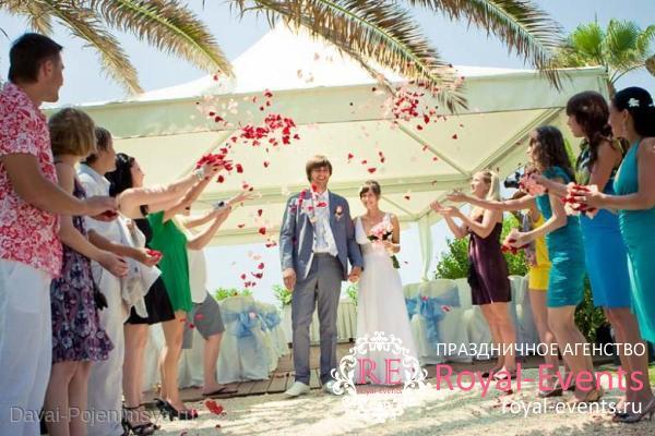 символическая свадьба на Кипре