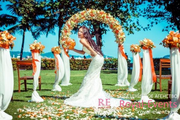 организация свадьбы в Тайланде